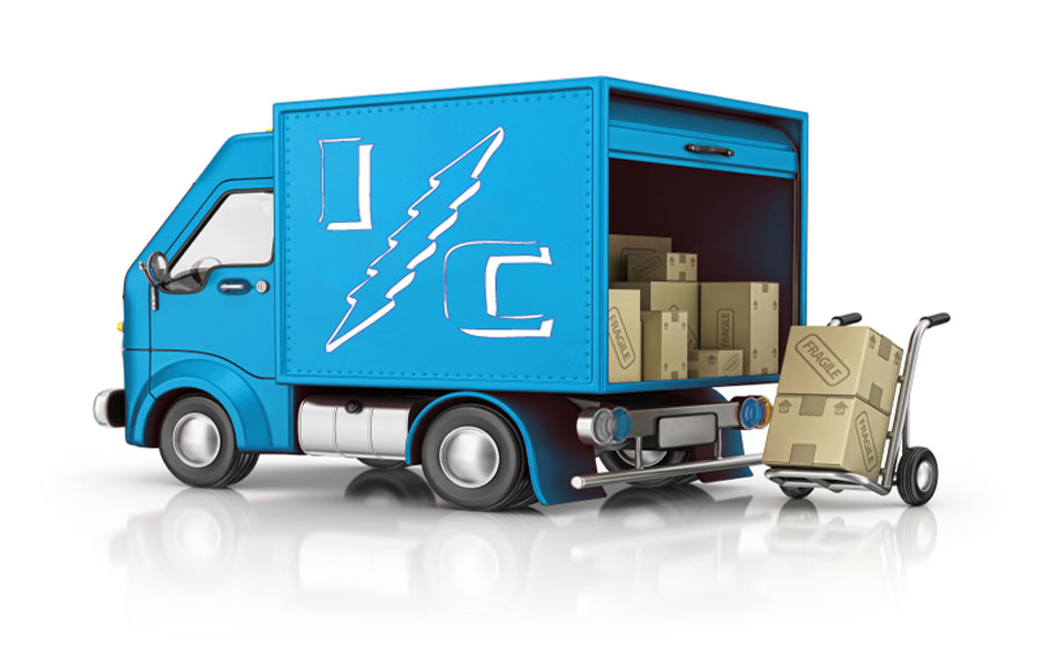 Interlectric Shipping Truck