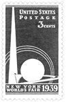 Worlds Fair 1939 Stamp
